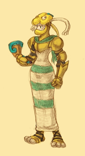 邪神騎士 固有アビリティ:恐怖 装備可能武器:ラッパ