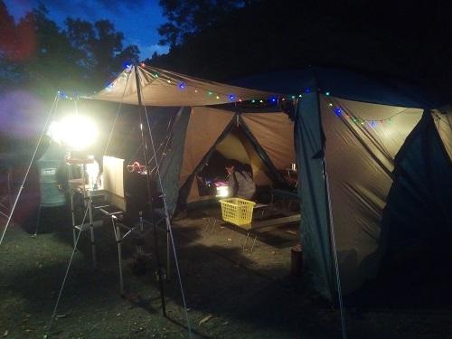 山逢の里キャンプ場に行って来ました。