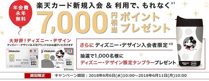 ポイントタウン 超期間限定!楽天カード発行で21,000円分のお得を手にしてカード発行しよう