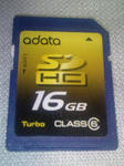 adata SDHC Card 16GB CLASS6