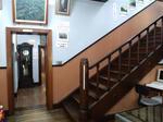 司令官官邸(つきさっぷ資料館)玄関ホール