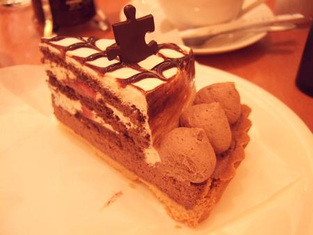リッチチョコレートタルト