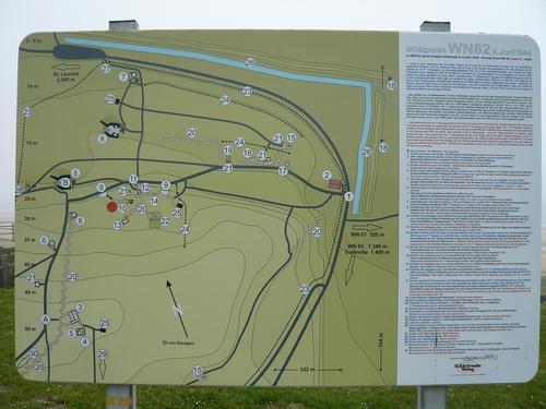 オマハビーチドイツ軍防御陣地WN62