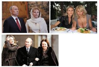 大統領 娘 プーチン リュドミラ・プーチナ