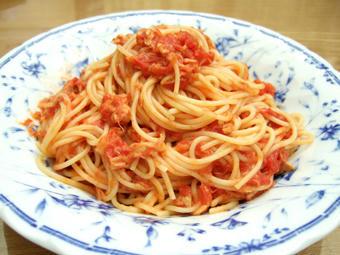 パスタ トマト ツナ レシピ 料理