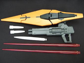 ガンプラ キュリオス 武器