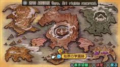 なんとワールドマップまで用意されていた! 地上と変わらない広さだ