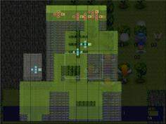敵の初期配置がとても少ない 左の崖に孤立しているのはアリスの部隊