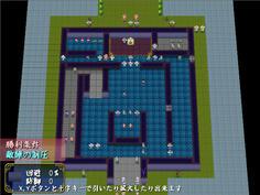 城の外側をまわり、右上の扉から侵入すればバカル兵と戦わずにすむ