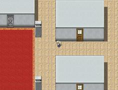 こちらは紬の試練 町のようにも見えるが屋内か?