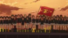 優勝旗を掲げるみぽりん で、最後のミッションは?