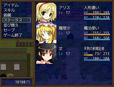 新規加入キャラのLVはアリスと同じになるよう調整されているようだ
