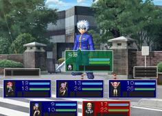 はぢめての戦闘はお馴染みの斉藤 敵グラがドットアニメでよく動く!