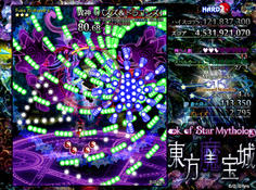 第4スペル パズドラじゃねえか!!www パズルみたいな面白い形のカラフルな弾幕
