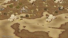 ワールドマップで内海を探索できるようになった!行ける場所がどんどん広がっていく!