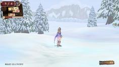 たどり着いた東の大陸はなんと一面雪の大地だった!
