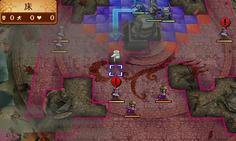 ユニットを移動する際、特攻武器を持っている敵ユニットに警告マークが表示される これはありがたいシステム