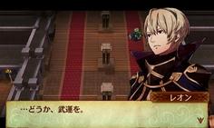 表立って主人公に味方できないレオンだが、その一言が何よりも心強い!