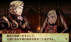 姉と兄の戦いを止めに入るエリーゼだが、兄の意志は揺るがない