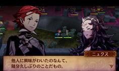 自軍の初期配置の近くにはその他軍のニュクスが 主人公で話しかけると仲間になるぞ