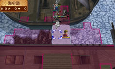 竜脈を使用すると氷が隆起して道ができる これで敵の船に進攻できるようになる
