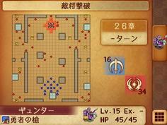 マップは障害物のない大広間 多数の敵との乱戦が予想される
