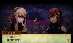 敵将のシャラに父親であるツクヨミで話しかけるとその場で仲間になる 最後の一人だった場合は自動的にマップクリア