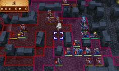 ボスの横にいる護衛の攻撃範囲に入ると砦内部から増援が出現 数が多いので一気に倒そうとせず、狭い地形を利用して迎撃しよう