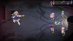 映姫は魔法攻撃が中心で、中でもダークウェブは強力