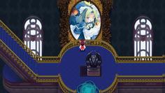 時計塔内部には魅魔のステンドグラスが!ここに魅魔がいるの?