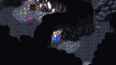 鉱山ではつるはしがあれば壊せそうな障害物が っていうか向こう側にあるし!