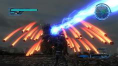 新種の怪生物アーケルスは広範囲に爆弾をばらまく非常に危険な生物だ!