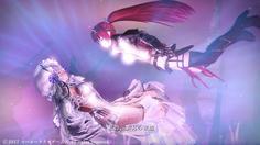 月の女王の心臓を貫き、倒したかと思いきや、二人が光に包まれる!