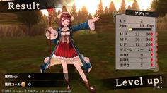LVUP!ダメージの上昇値も表示されるのか!