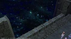 異界は星空に浮かぶ遺跡のような空間だった アトリエシリーズでは見慣れた風景?