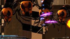 本家4.1では描かれなかった飛行型を相手に苦戦するペイルチーム