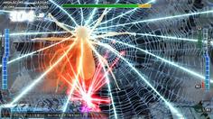 最初のボスはレタリウス!画面上に残留する糸で動きを制限してくる
