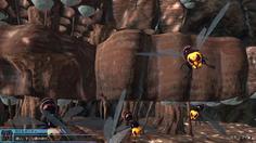 飛行型巨大生物の巣の内部に潜入!そこにはおびただしい数の卵が!