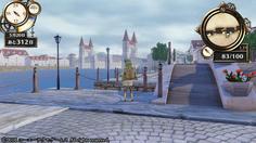 大きな水路と橋が特徴的な洋風の町 いい景色だ