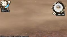 ウェイスト・ブレインの奥地に凄まじい砂嵐が吹き荒れるエリアが!自分の姿すら見えないので探索中止せざるをえない!