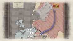 発動されたノーザンクロス作戦 連邦の総力を以って敵国の首都を攻めるという破天荒すぎる作戦だ