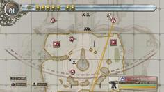 敵の拠点近くには機関銃座が設置されている どうやって近づこう