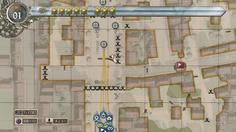 正面の大通りはゲートで塞がれているため、歩兵で路地を進む必要がある