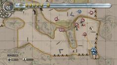 対戦車兵のガートルードが孤立している 突撃兵の二人で敵を倒さないとまずい