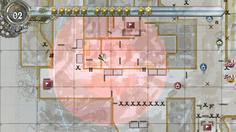 レーダーで敵の位置と明らかにすると有利に進軍できる