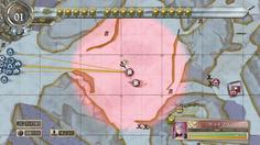 ヴォルツとクライマリアはともにマップ中央に配置 まずは赤い吹雪を止めなければならない