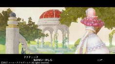 絵画の世界にいた美しい女性 髪の色も同じだし、まさか・・・?