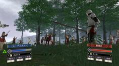 騎士団を配備すると戦闘アニメにもモブが多数参加 敵味方の騎士団が入り乱れる様は圧巻