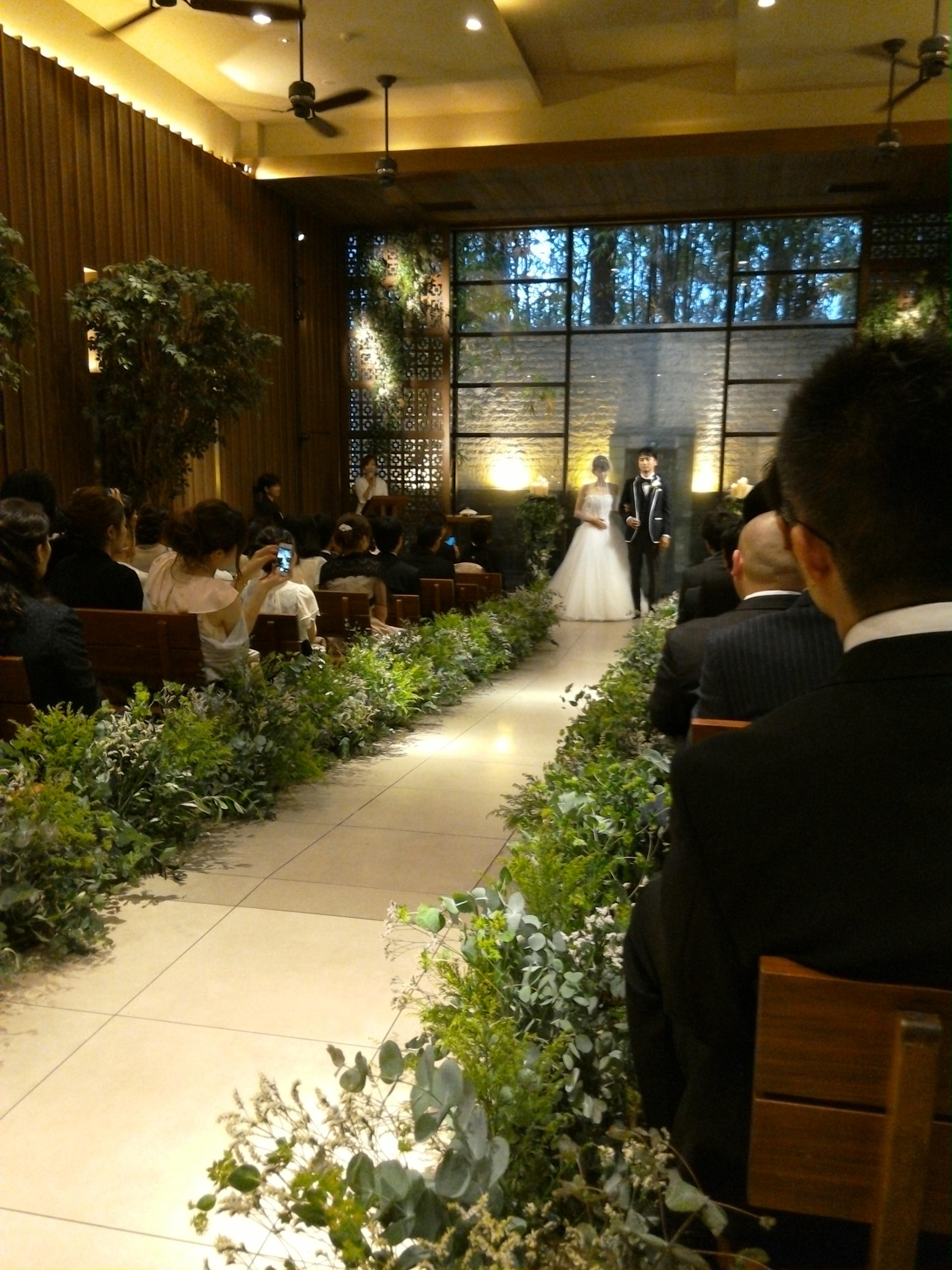 トールペイント Kenji+絵画 友人の結婚式に行ってきた。WITH THE STYLE FUKUOKA(ウィズザスタイルフクオカ)