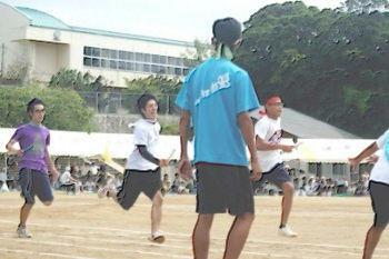 高校男子400mリレー